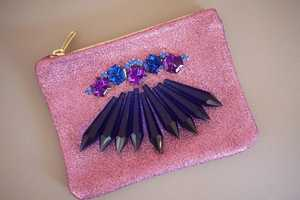 The DIY Chandelier Crystal Clutch Mimics Mawi's Latest Fashion
