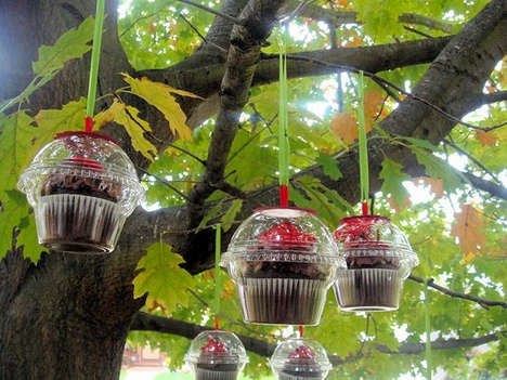 DIY Christmas Cupcake Favor Ornament
