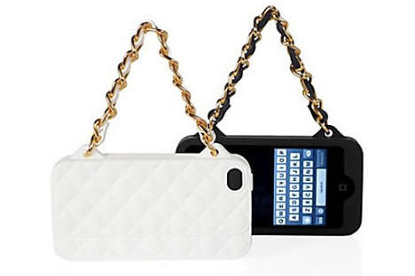 Chanel handbag iPhone cover