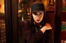 Haute Couture Monochrome Caps
