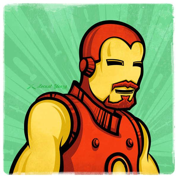 Superhero Moustaches