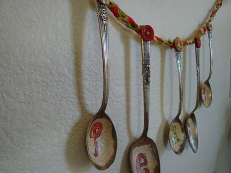 Spoon Christmas Garland