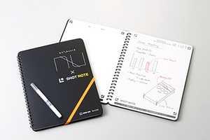 The Shot Note NUboard Can Scan Handwritten Notes