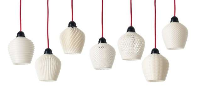 3D-Printed Light Fixtures