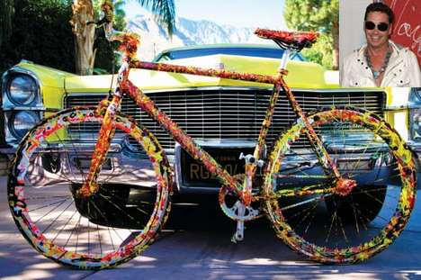 $1 Million Cruisers - Artist Jack Armstrong Unveils the World's Most Expensive Bike