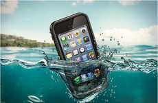 Impervious Smartphone Sheaths (UPDATE) - The iPhone 5 LifeProof Will Keep Your Gadget Protected