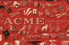 Cartoon Epic Fail Posters - Acme Corporation Poster is Dedicated to Wile E. Coyote's Countless Tries