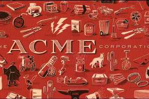 Acme Corporation Poster is Dedicated to Wile E. Coyote's Countless Tries