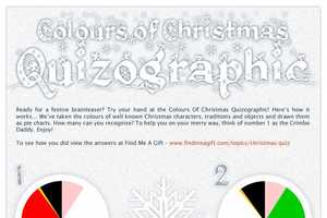 Colors of Christmas Quizographic Tests Your Knowledge of Holiday Items