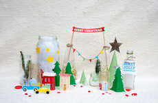 DIY Christmas Village Decorations