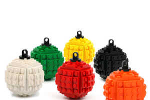 These LEGO Ornaments Bring Childhood Nostalgia to the Christmas Tree