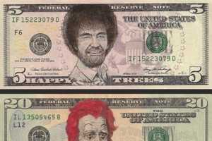 The Dollar Bill Art Features Some of the Most Recognizable Faces in Pop Culture