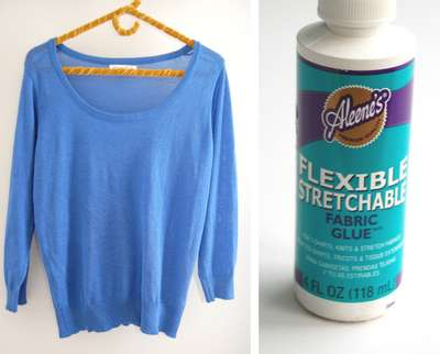 Sequined Sweater DIY