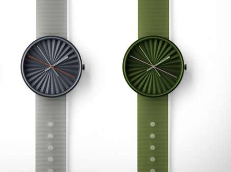 benjamin hubert plicate watches