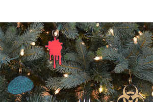 Make Your Holiday a Zombie-Themed Christmas with these Ornaments