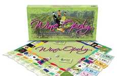 Alcohol-Inspired Board Games - The Wineopoly Board Game is Perfect for Wine Connoisseurs