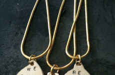 Puzzle Piece Sentimental Jewelry - The You Complete Me Necklace is Split into Three Parts