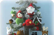 DIY Crochet Christmas Ornaments