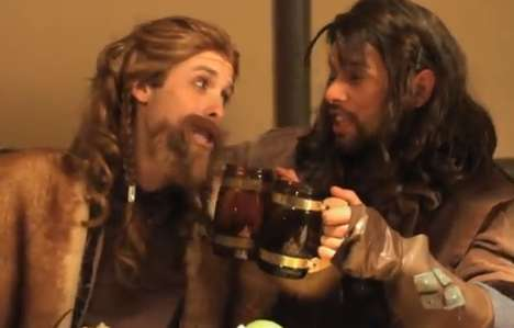 the hobbit parody