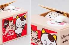 Coin-Collecting Cartoon Cats