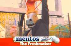 Horseplay Product Parody Videos - This Mentos Commercial Spoof Features Horses Instead of Humans