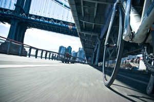 NYC by Bike Photo Series Captures the City at Wheel Level