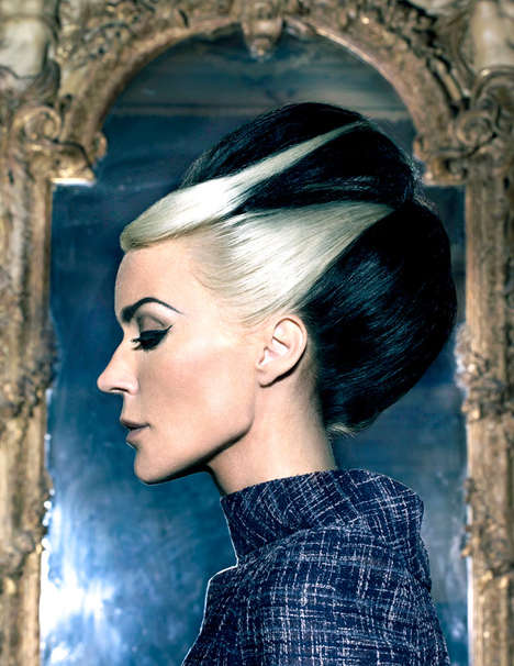 Dramatic Daphne Guinness Photoshoots
