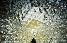 Vibrant Quartz Quarters - The Swarovski Crystal Dome Includes 595 Mirrors