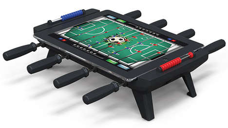 two-timing foosball tables