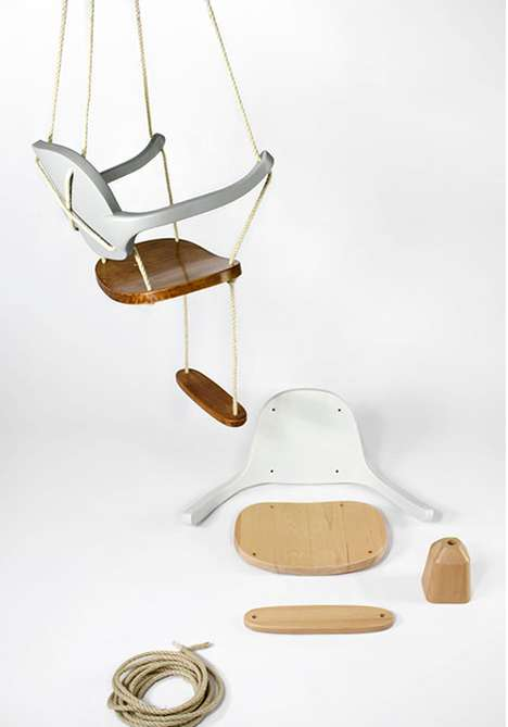 Swing Chair by Antonio Arico