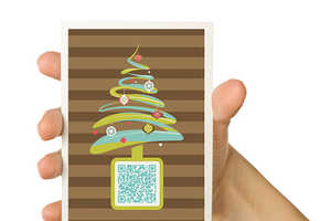 The QR Code Christmas Card Makes Your Message a Surprise