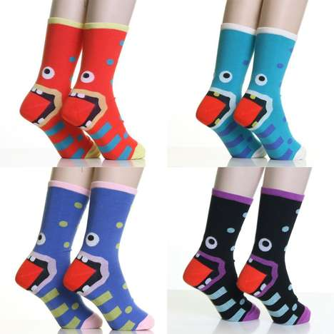 Monster Heel Socks