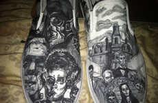 Menacing Thriller Cinema Shoes