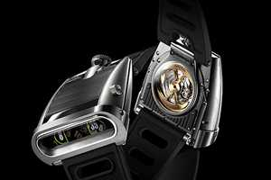 The Futuristic MB&F HM5 Watches Sell at a Heart-Stopping $60,000