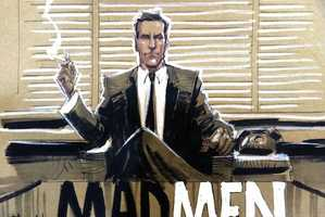 Dan Panosian Turns Mad Men Characters into Comics
