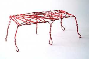 The Thread Bench by Ola Giertz Rebels Against the Typical Tidiness of Design
