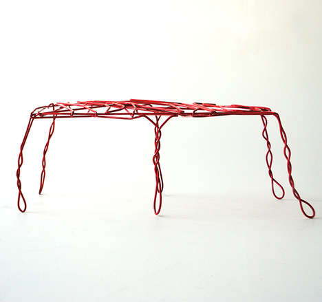 Thread Bench by Ola Giertz