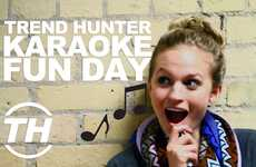 Karaoke Dance Parties: Trend Hunter Fun Day