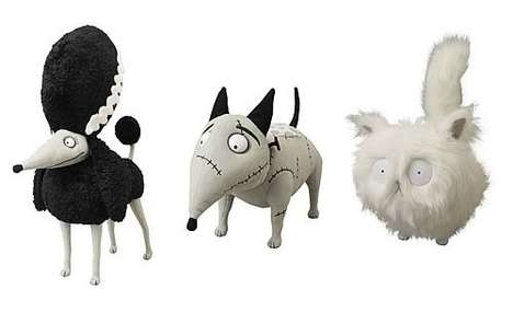 Frankenweenie Plush Set