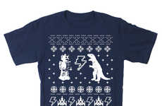 Festive Sci-Fi Shirts - Geeky Christmas Tees are Great as Casual Christmas Clothes