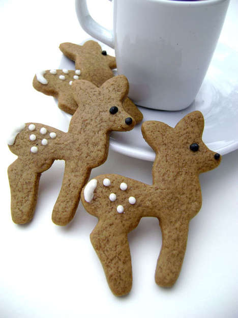 Gingerbread Deer Cookie