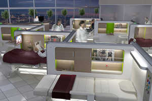 The Recovery Lounge Brings New Ideas to a Stagnant Hospital Atmosphere