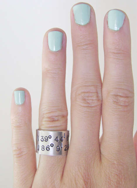 Latitiude Longitude ring