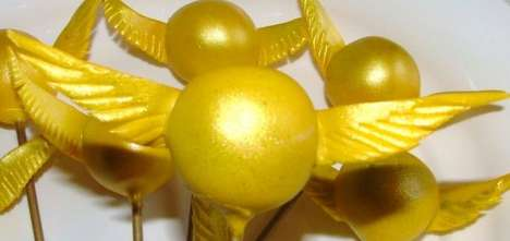 snitch Cake Pops 