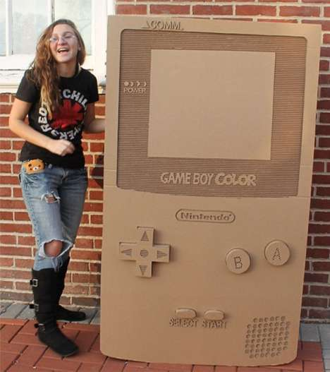 cardboard game boy color