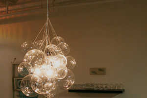 The Bubble Chandelier by Mint Love Social Club  Offers Unique Lighting