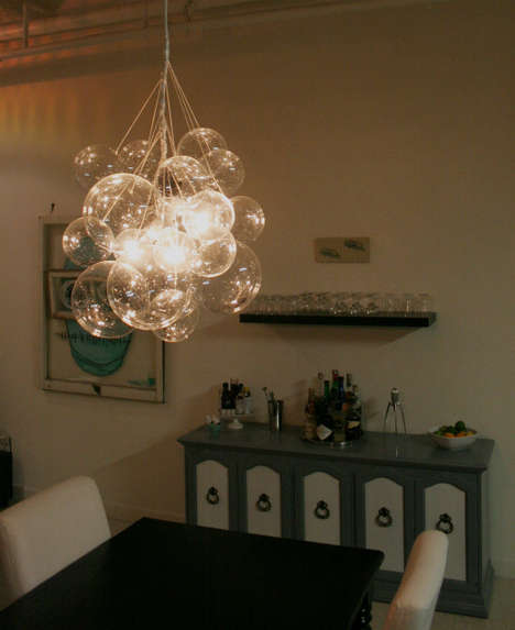 Bubble Chandelier by Mint Love Social Club