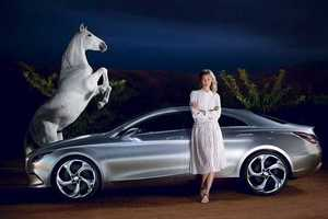 Karlie Kloss Takse Over the Mercedes Benz Fashion Week Campaign