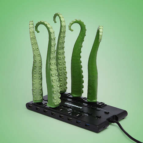 USB Animatronic Squirming Tentacle
