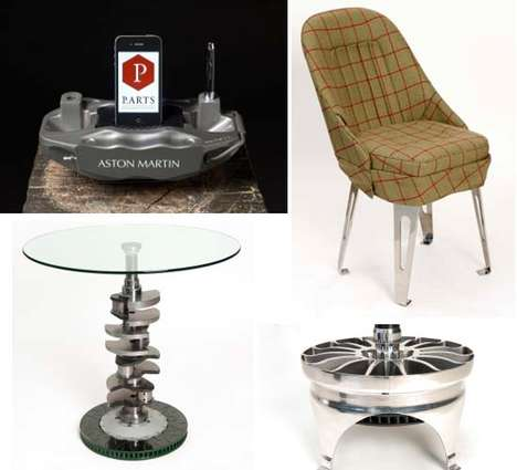 modern furniture pieces